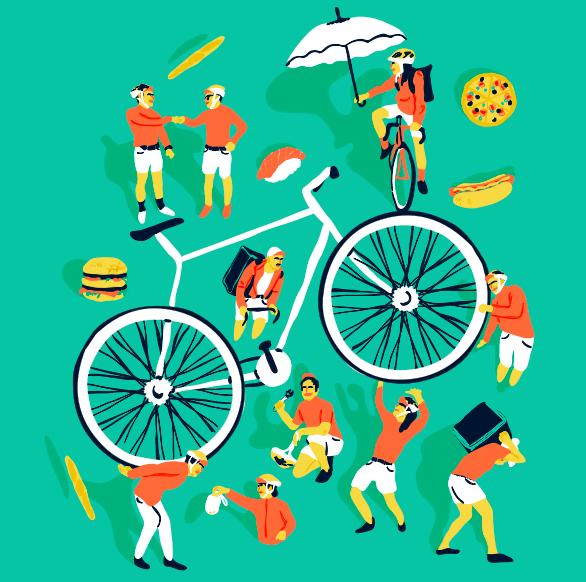 L'esprit coursier contre le capitalisme : Quand les livreurs à vélo défient l'ubérisation du travail