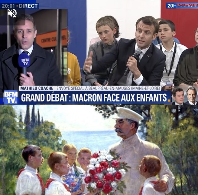 Macron, petit père fouettard des peuples