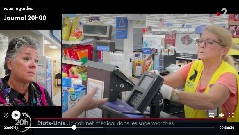 Quand France 2 vante les mérites du supermarché-hôpital