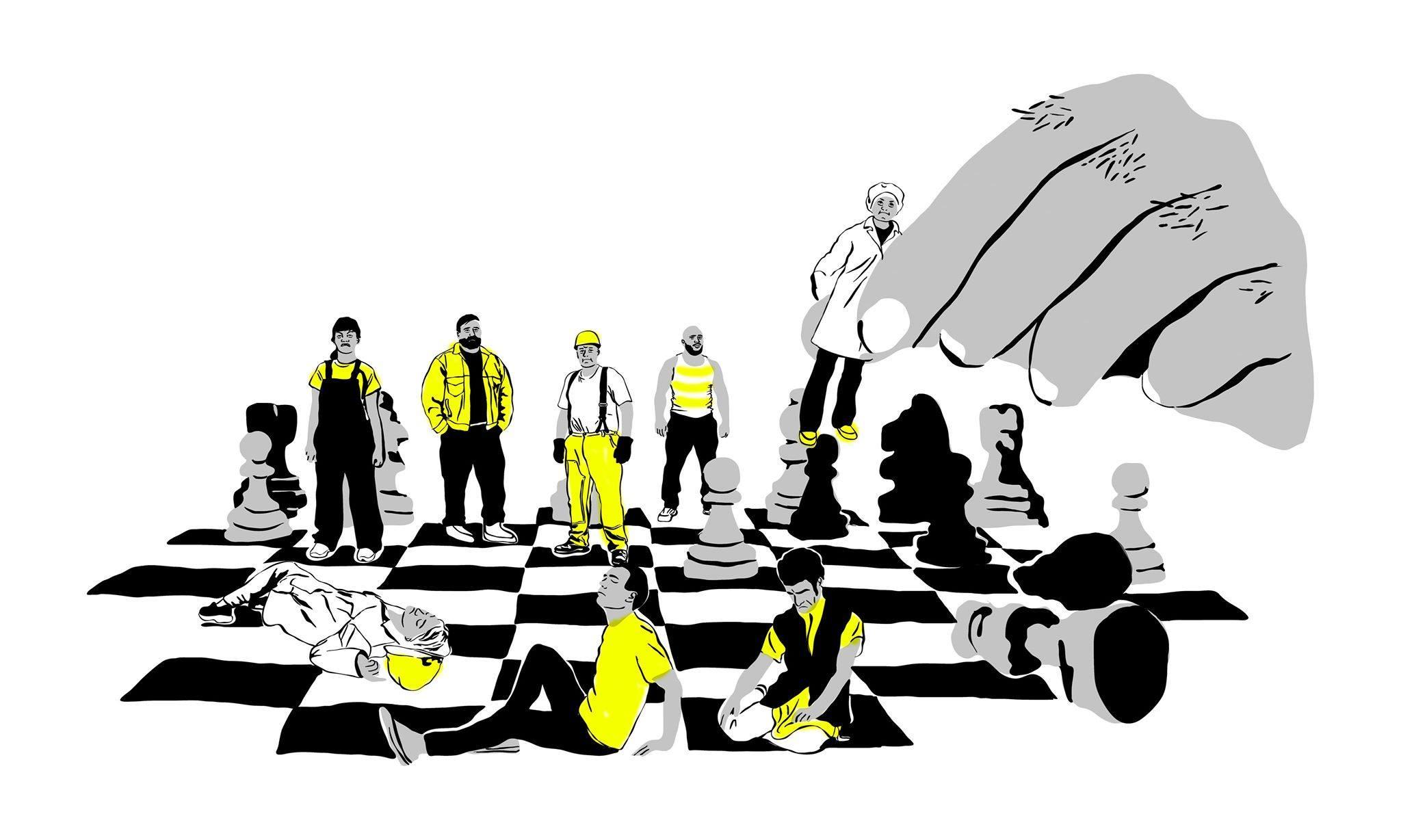 Le travail ou la vie – Contester la subordination pour stopper l'épidémie