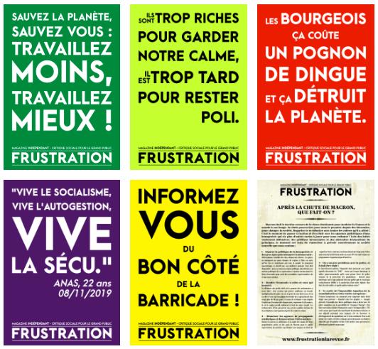 La grève continue, téléchargez vos affiches pour être la plus belle/le plus beau pour aller manifester !