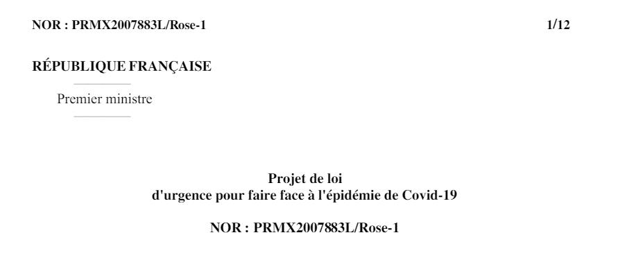 Projet de loi d'urgence coronavirus : le gouvernement veut payer la crise avec nos congés payés !