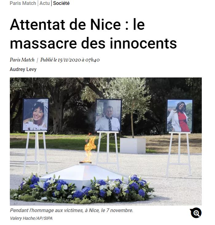 Concernant l'attaque de Nice, la passion l'a emporté comme à chaque attentat. Mais bon à Cholet.