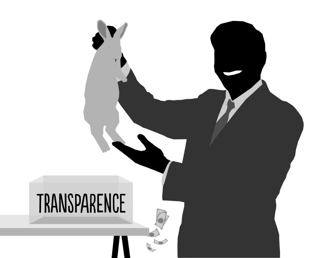 La transparence bourgeoise n'empêche pas les complots, au contraire